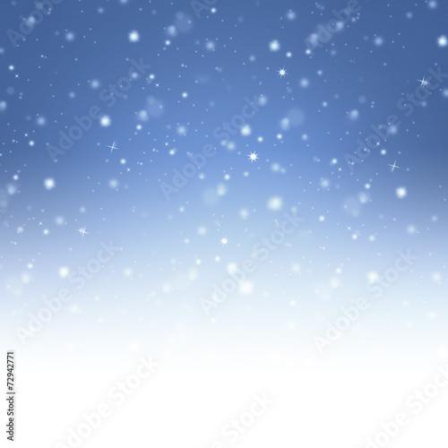 canvas print picture Winterlicher Hintergrund