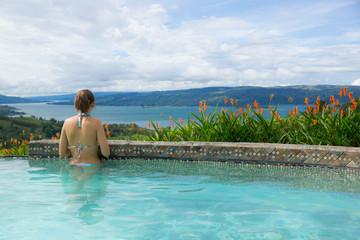vue sur le lac - Costa Rica