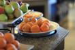 The tangerines