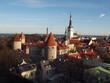 canvas print picture - Tallinn Estland