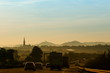 canvas print picture - Sonnenaufgang an der A4