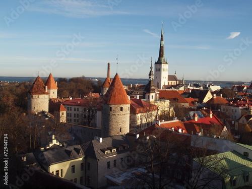 canvas print picture Tallinn Estland