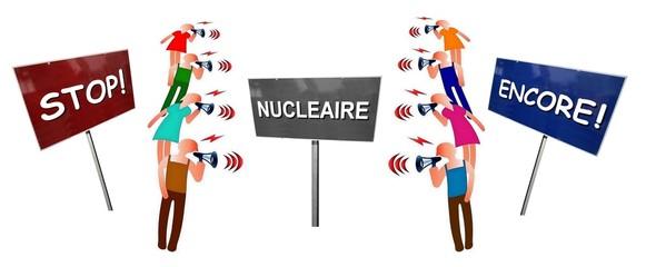 """Débat """"Nucléaire: Stop ou encore"""""""