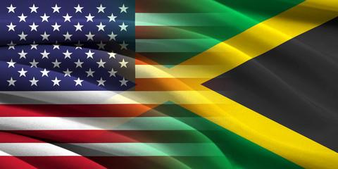 USA and Jamaica.