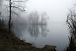 Mist on a lake - 72947107