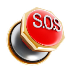 Emergency SOS button
