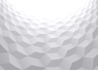Abstract perspective background with 3d cubes