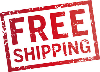 red stamp free shipping