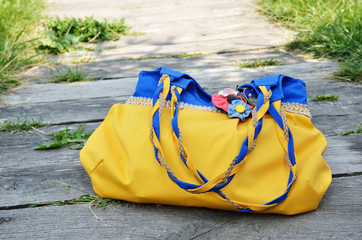 Ukrainian handmade bag