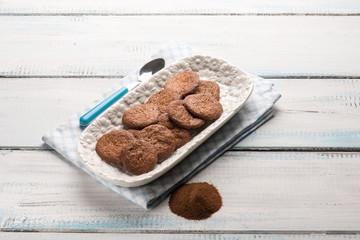 homemade coffee cookie