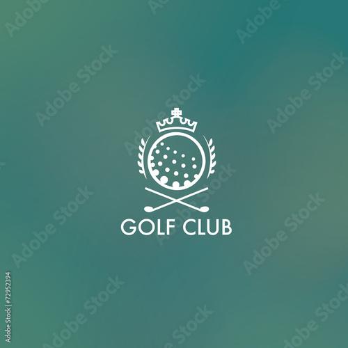 Fototapeta Golf Logo