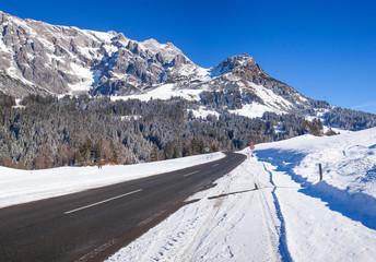 Winter in the Austrian alps