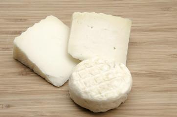 Surtido de quesos de cabra
