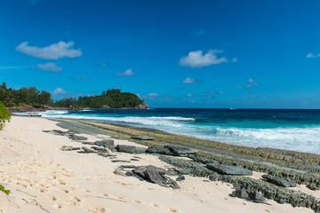 Attractive Seashore at Police Bay, Seychelles