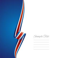 Costa Rica left side brochure cover vector