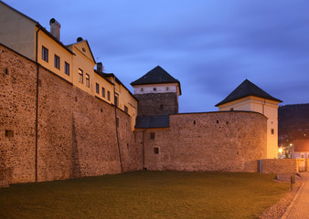 Fortress in Kremnica. Slovakia