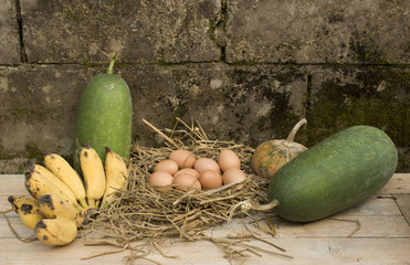 still life countryside food