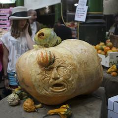 Borough market ready to Halloween