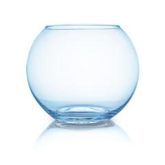 blank gold fishbowl