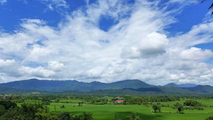 Vang Vieng scenery.