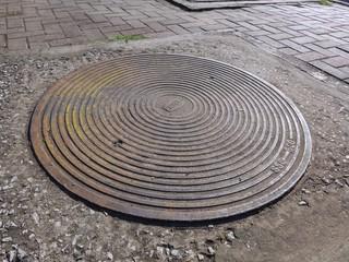 sewer drain lid