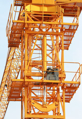 Hydraulic Jacks of Tower Crane front view
