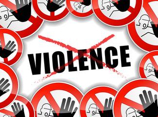 no violence