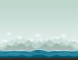 Mountains ashore2