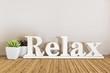 Leinwanddruck Bild - Relax