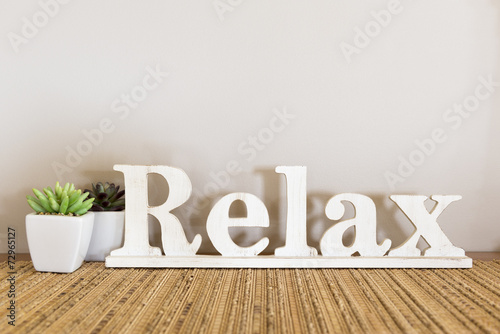 Leinwanddruck Bild Relax