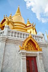 Wat Tritossathep with blue sky Bangkok Thailand
