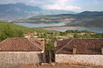 Rural Area Around Fierza Lake, Albania