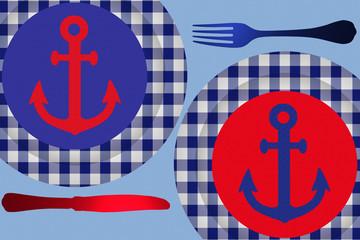 Restaurant de la Mer - Menu du Pêcheur