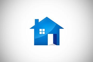home realty building vector logo