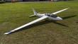 Leinwanddruck Bild - Segelflugzeug - Modellsegelflugzeug - Modellflug - Segelflugzeug