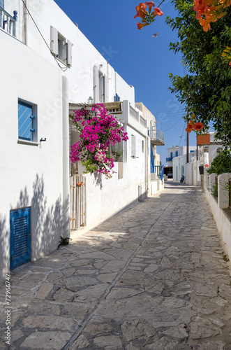 Street in Antiparos island, Cyclades, Greece