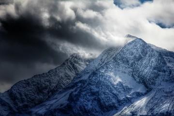Bergwelt - dramatische Aufnahme...