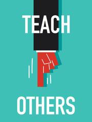 Word TEACH OTHERS