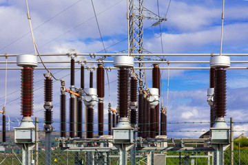 Earthing switches in the Collector Substation of a wind farm