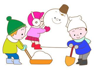 雪だるまを作ろう