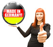 Made in Germany! Button, Icon