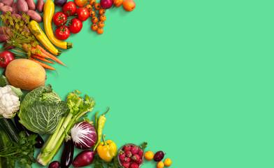 Super-food background