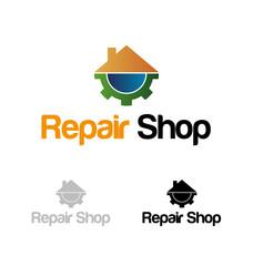 Repair shop logo