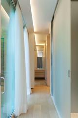 Modern luxury apartment: hallway