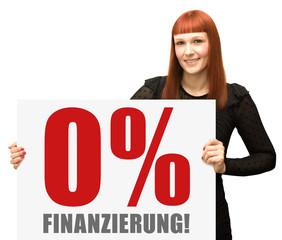 0% Finanzierung!