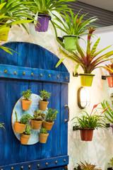 colorful jardiniere
