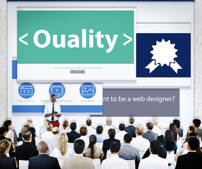 Business People Quality Web Design Concepts