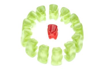 The boss gummy bear
