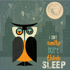 owl with insomnia