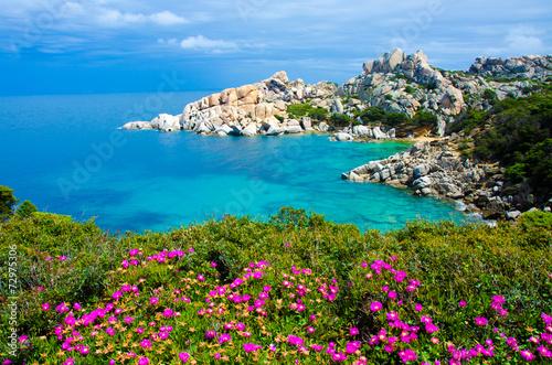 Staande foto Kust Sardinia Coast - Capo Testa - Italy